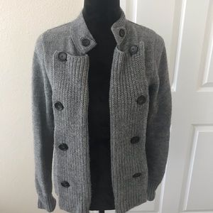 J Crew Women's Wool Blend Cardigan